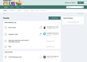 forum.kasperskyclub.com