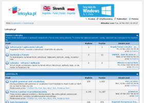 forum.leksyka.pl
