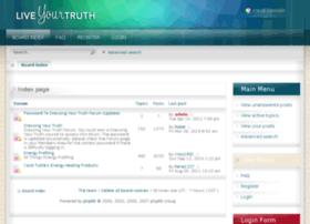 forum.liveyourtruth.com