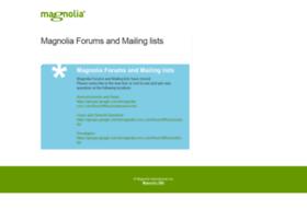 forum.magnolia-cms.com