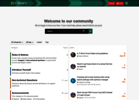 forum.manjaro.org