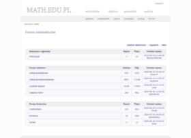 forum.math.edu.pl