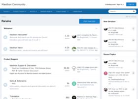 forum.maxthon.com
