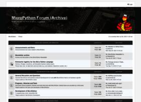 forum.micropython.org
