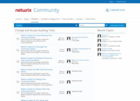 forum.netwrix.com