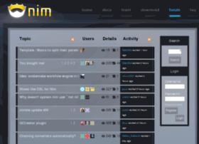 forum.nimrod-lang.org