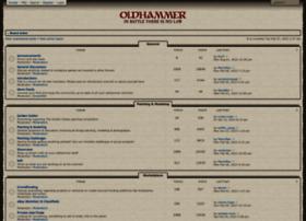 forum.oldhammer.org.uk