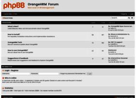 forum.orangehrm.com