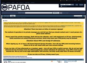 forum.pafoa.org