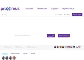 forum.proximus.be