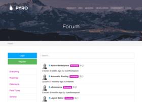 forum.pyrocms.com