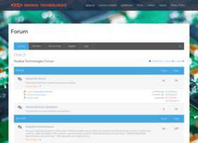 forum.radikaltechnologies.com