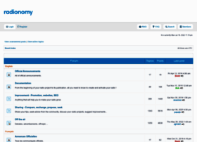 forum.radionomy.com