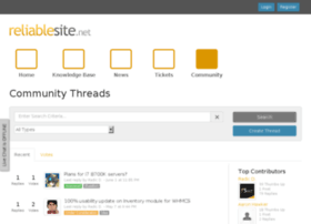 forum.reliablesite.net