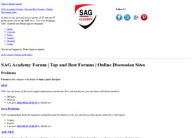 forum.sagacademy.com