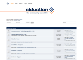 forum.siduction.org