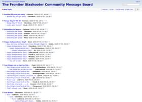 forum.sixshootercommunity.com