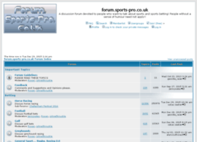 forum.sports-pro.co.uk