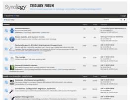 forum.synology.com