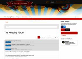 forum.theamazingaudioengine.com
