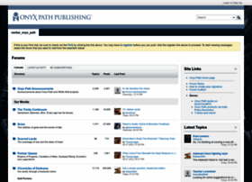 forum.theonyxpath.com