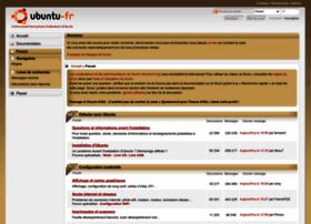 forum.ubuntu-fr.org