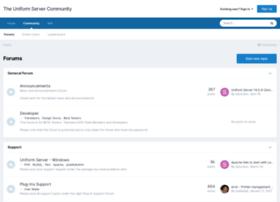 forum.uniformserver.com