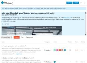 forum.weaved.com