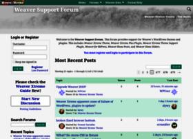 forum.weavertheme.com