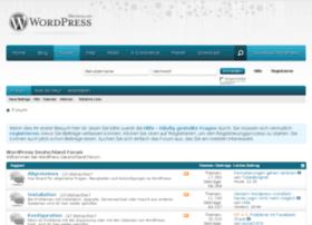 forum.wordpress-deutschland.org