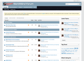 forum.worldwindcentral.com