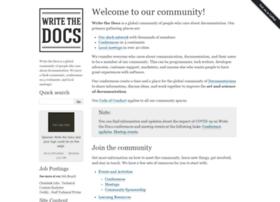 forum.writethedocs.org