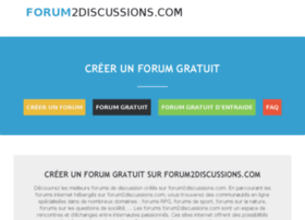 forum2discussions.com