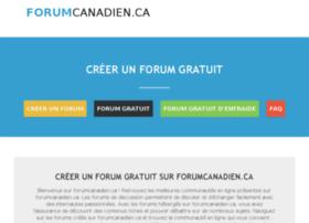 forumcanadien.ca
