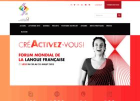 forumfrancophonie.org