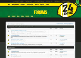 forums.24hoursoflemons.com