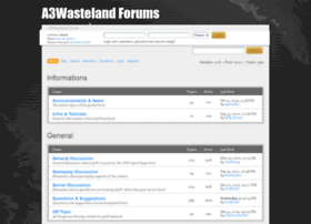 forums.a3wasteland.com