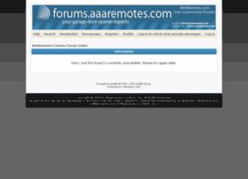 forums.aaaremotes.com