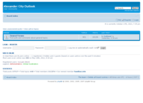 forums.alexcityoutlook.com