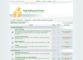 forums.arialsoftware.com