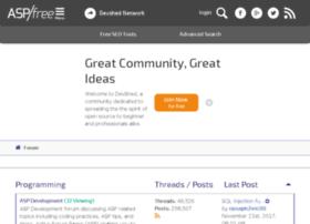forums.aspfree.com