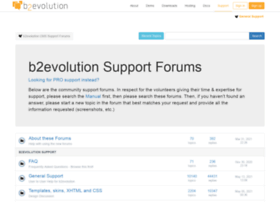forums.b2evolution.net