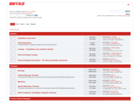 forums.buffalotech.com