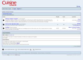 forums.cuisineathome.com