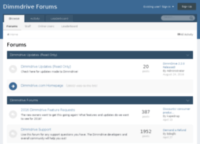 forums.dimmdrive.com