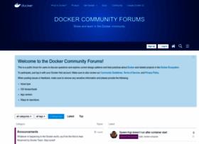 forums.docker.com