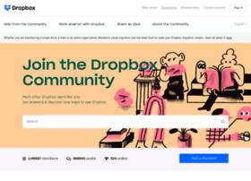 forums.dropbox.com