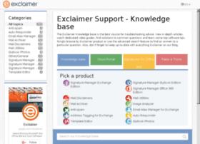 forums.exclaimer.com