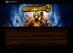 forums.gearboxsoftware.com