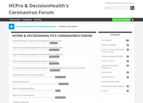 forums.hcpro.com